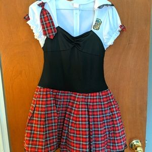 Dream girl school girl lingerie